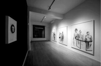 Le Violon d'Ingres mis à nu par ses célibataires même (The Violon d'Ingres, Stripped Bare by her Bachelors, even), installation view