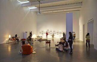 Ragnar Kjartansson: Me, My Mother, My Father, and I, installation view