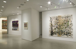 Michael Goldberg: Making His Mark, Paintings and Drawings, 1985-2005, installation view