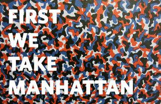 FIRST WE TAKE MANHATTAN, installation view