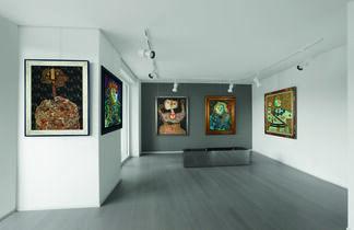Personaggi di Enrico Baj, installation view