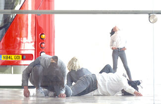 Maria Hassabi: PLASTIC, installation view