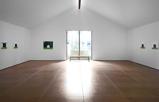 Eric Aho: Ice Houses, installation view