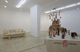 Brad Kahlhamer: A Fist Full of Feathers, installation view