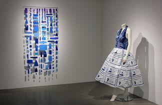 blue, installation view