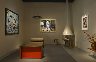 Hamiltons Gallery at PAD London 2014, installation view