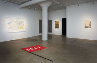"""Group Exhibition   """"Juncture"""", installation view"""
