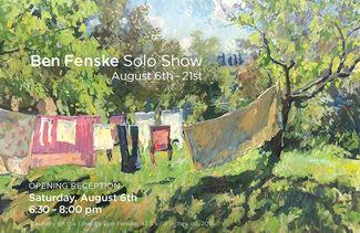 Ben Fenske Solo Show, installation view