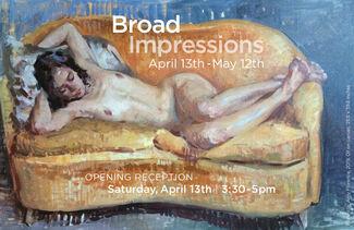 Broad Impressions, installation view