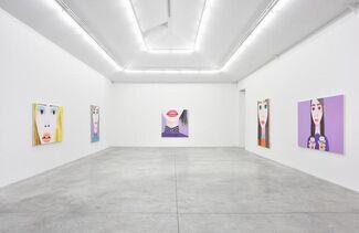 Brian Calvin 'Hours', installation view