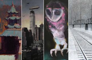 Kim Kimbro, Michael Rosenfeld, Theodore Svenningsen and William Wray :: Short Days Dark Nights, installation view