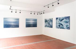 """Jochen Hein """"Blau"""", installation view"""