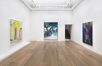 Willem de Kooning | Zao Wou-Ki, installation view