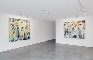 There, installation view