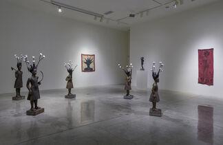 Alison Saar: Topsy Turvy, installation view