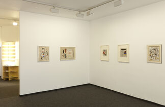 Willi Baumeister - Paintings and works on paper 1931-1954, installation view