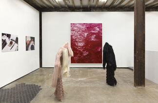 Blood Clots, installation view
