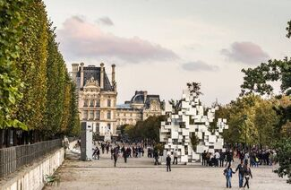 Galerie Philippe Gravier at FIAC 14, installation view