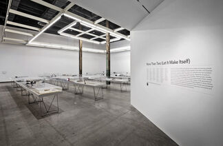 Micah Lexier: One, and Two, and More Than Two, installation view