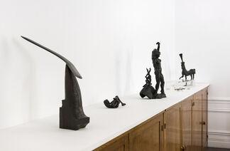 Petits bronzes, installation view