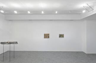 Calzolari -  Morandi -  Parmiggiani, installation view