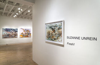 Fresh! New Paintings & Works on Paper by Suzanne Unrein, installation view