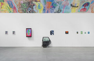Max Brand, Joanne Robertson, Jasper Baydala, Villagy Trilogy, installation view