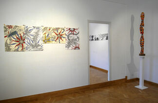 AMONG THE THOUGHTS, installation view