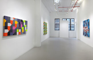 """Andrew Huffman """"Hued Vibrations"""", installation view"""