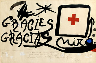 Miró and the Red Cross, installation view