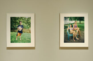 Judith Joy Ross: The Devil Today and Reading to Dogs, installation view