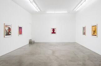 Ellen Carey: Polaroid 20 x 24 Self-Portraits, installation view