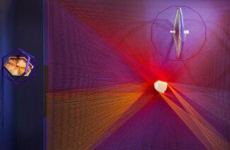 """Milton Becerra - """"Wale'kerü. Líneas de luz"""", installation view"""