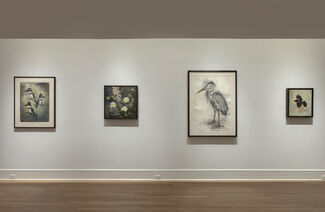 John Alexander: Recent Paintings and Drawings, installation view