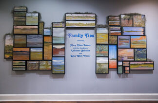 """""""Family Ties"""" featuring Mary Edna Fraser, Labanna Babalon, and Reba West Fraser, installation view"""