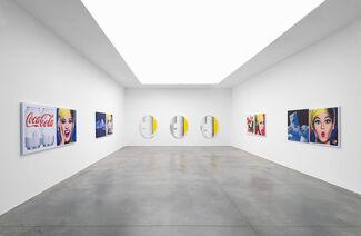 Jonathan Horowitz — Plants, Mirrors, Coke/Pepsi Paintings and More, installation view