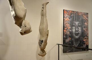 Zhang Dali Retrospective, installation view