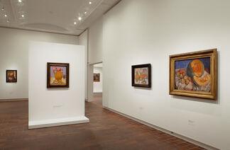 Paula Modersohn-Becker, installation view