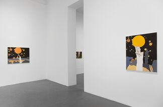 Bruno Knutman - Nattstycke / Night Piece, installation view