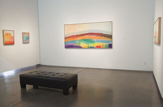 Ronnie Landfield: After the Rain, installation view