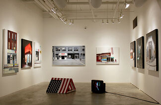 Brett Amory - This Land Is Not For Sale, Forgotten Past and Foreseeable Futures, installation view