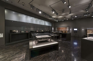 Mother-of-Pearl Lacquerware from Korea, installation view