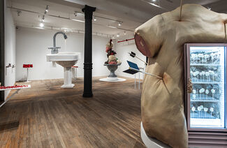 an idea of god, or a toothbrush, installation view