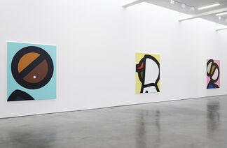 Julian Opie, installation view