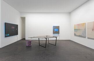 NE><ECON   Niko Abramidis &NE, installation view