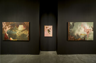 Raveling Relic, installation view