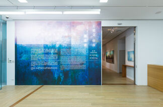 Leo Wang Solo Exhibition – The Stargazers, installation view