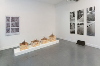 Some Dimensions of my Lunch: Conceptual Art in Britain. Part 1: Roelof Louw, installation view