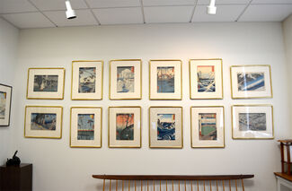 Hiroshige: The Poet of Travel, installation view