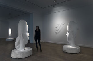 La Forêt blanche, installation view
